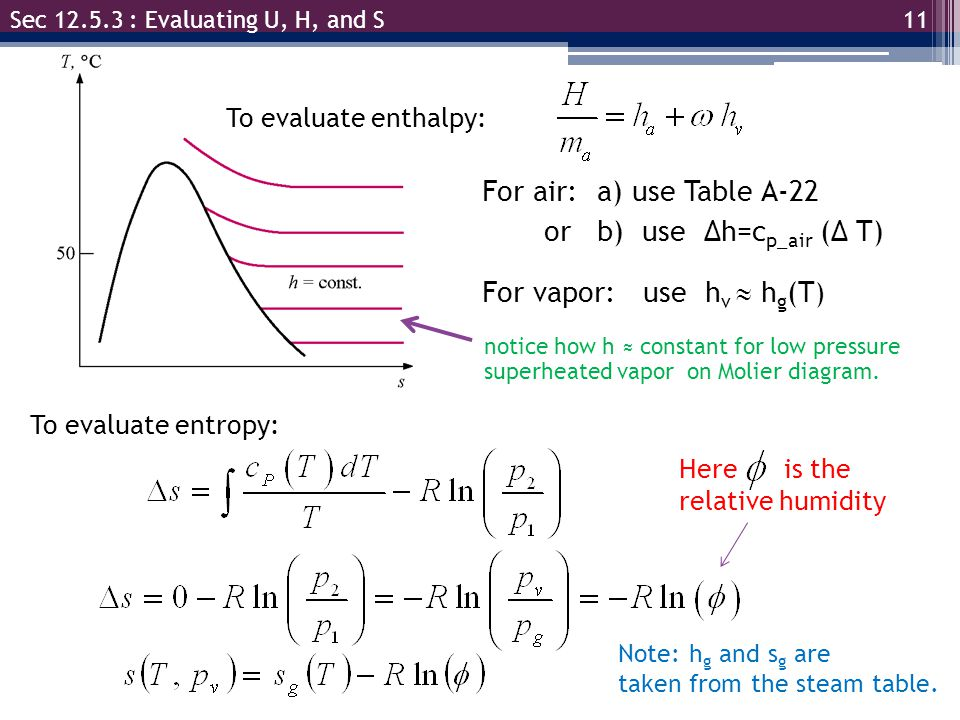 or b) use Δh=cp_air (Δ T)