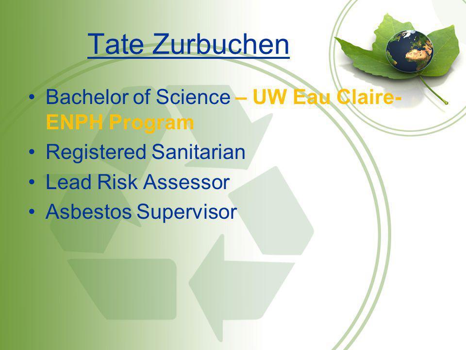 Tate Zurbuchen Bachelor of Science – UW Eau Claire- ENPH Program