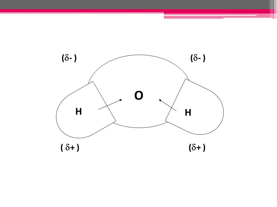 (- ) O H (+ ) ( + )