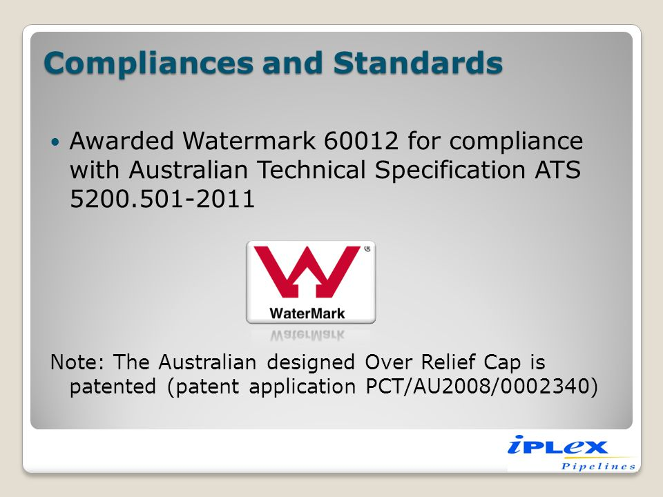 Compliances and Standards