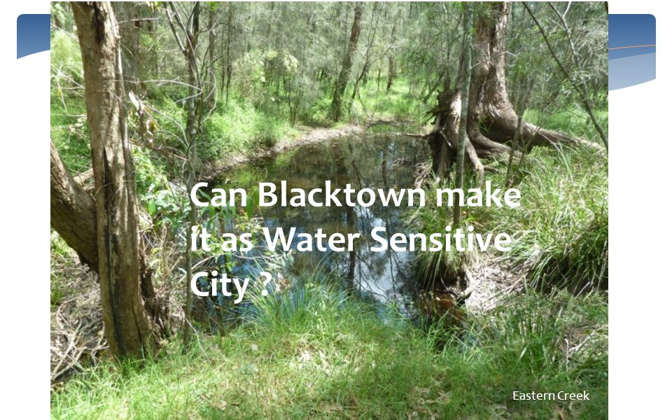 Can Blacktown make it as Water Sensitive City