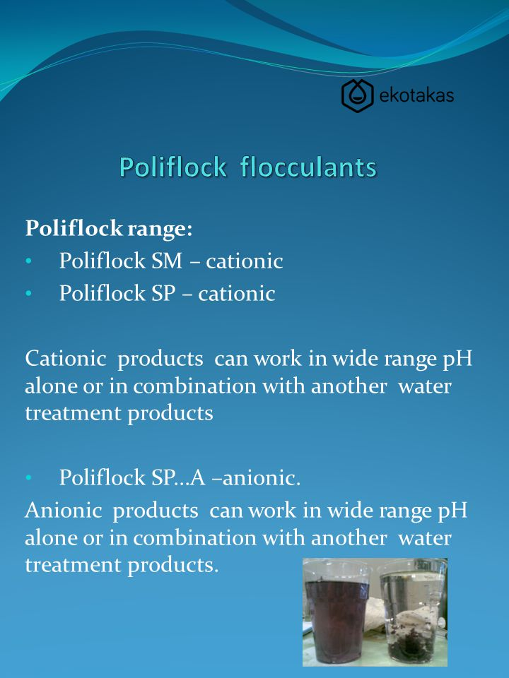 Poliflock flocculants
