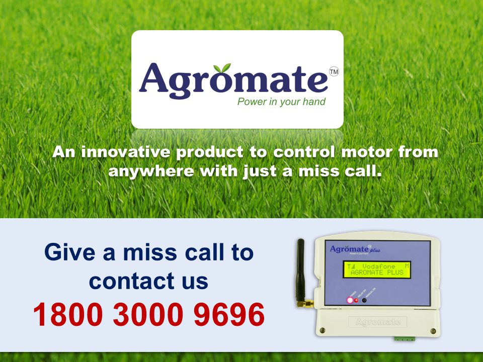 1800 3000 9696 Give a miss call to contact us
