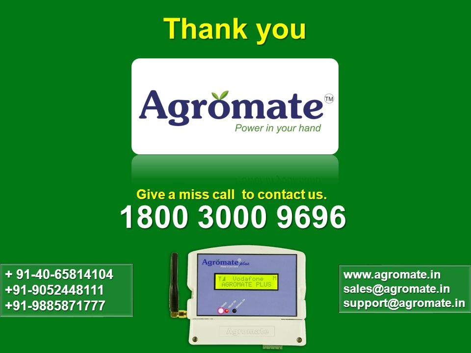 1800 3000 9696 Thank you Give a miss call to contact us.