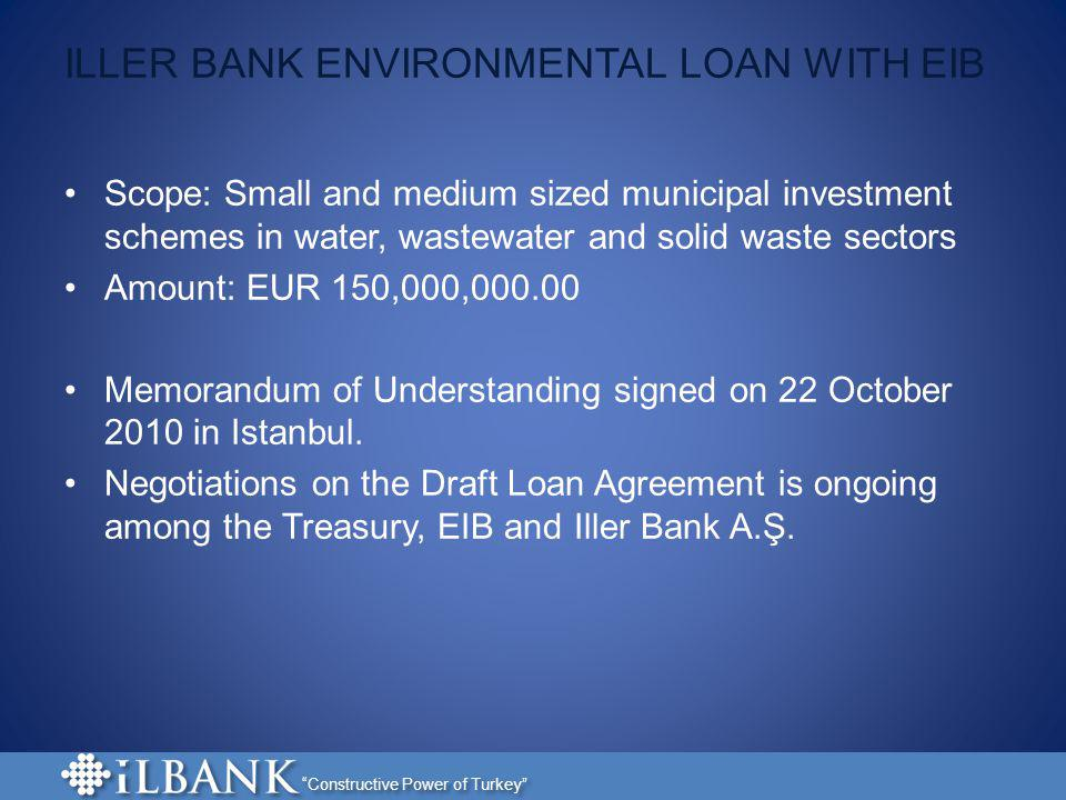 ILLER BANK ENVIRONMENTAL LOAN WITH EIB