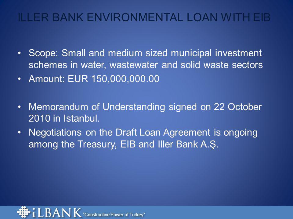 ILLER BANK ENVIRONMENTAL LOAN WITH EIB