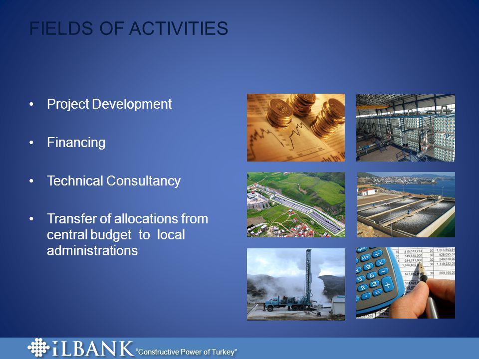 FIELDS OF ACTIVITIES Project Development Financing