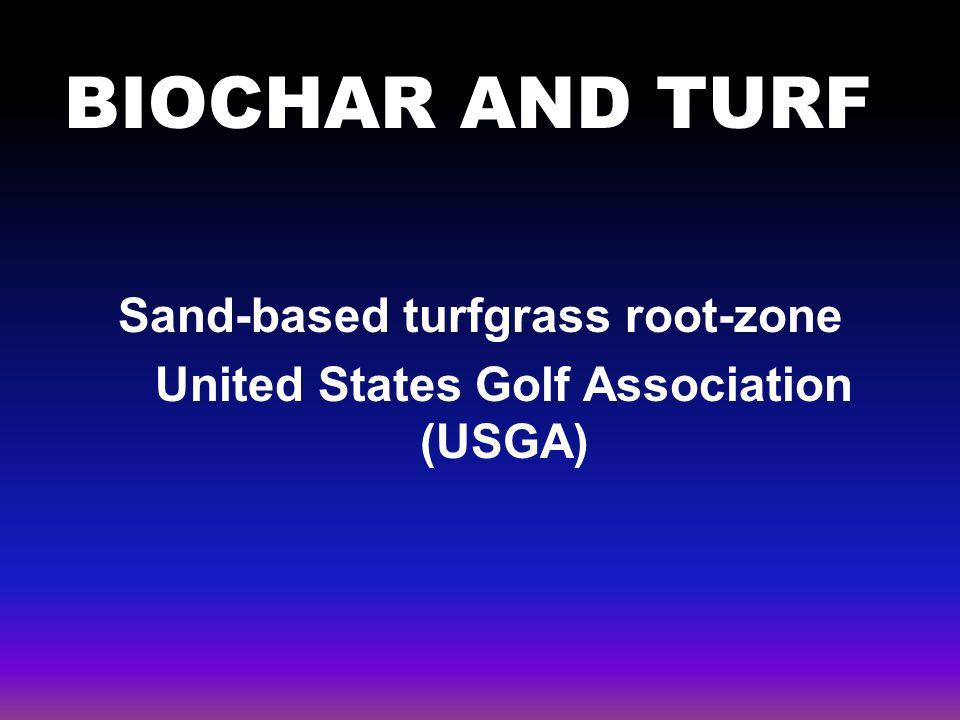Sand-based turfgrass root-zone United States Golf Association (USGA)