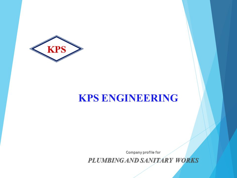 Company profile for PLUMBING AND SANITARY WORKS