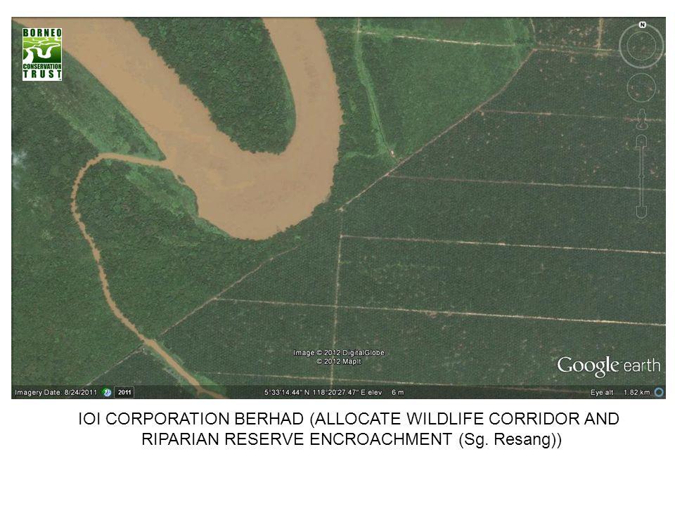 IOI CORPORATION BERHAD (ALLOCATE WILDLIFE CORRIDOR AND