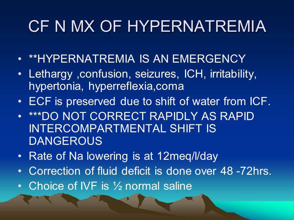 CF N MX OF HYPERNATREMIA