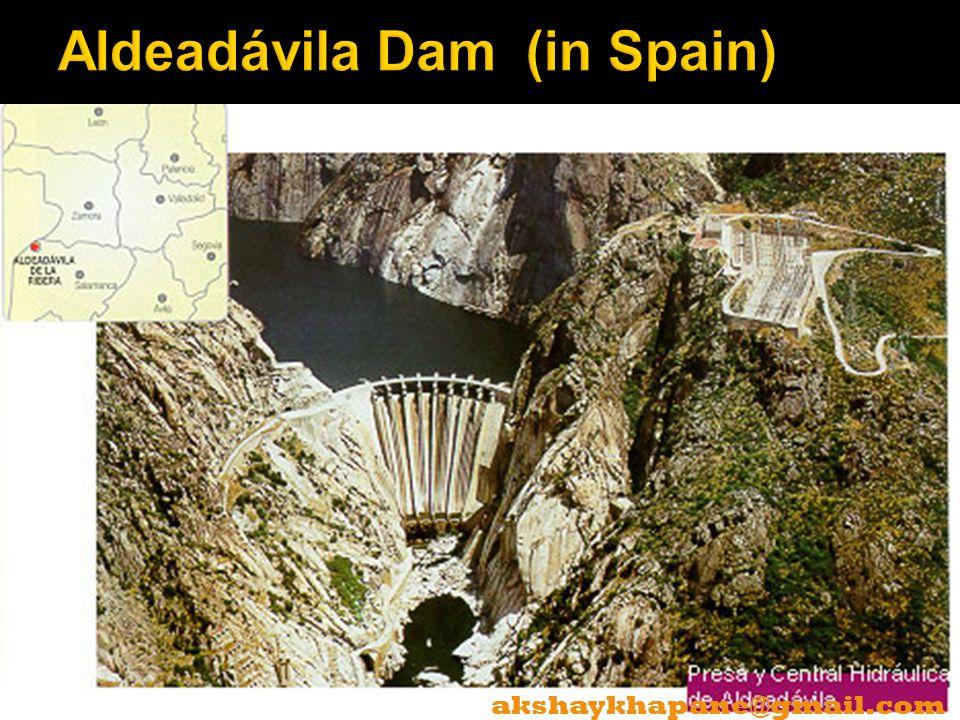 Aldeadávila Dam (in Spain)