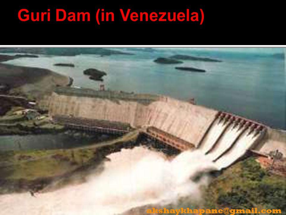 Guri Dam (in Venezuela)
