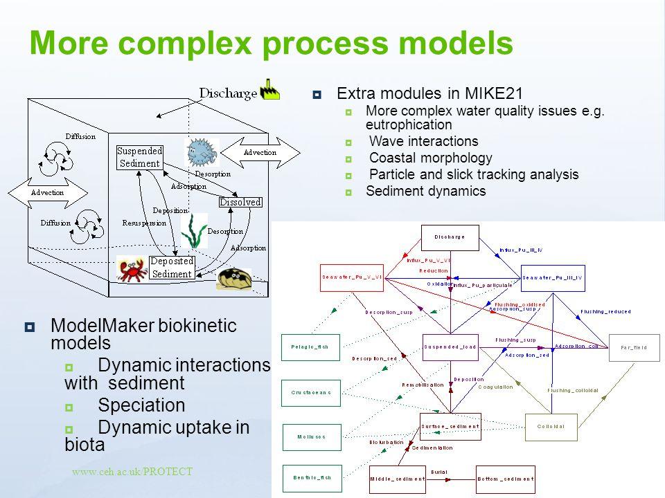 More complex process models