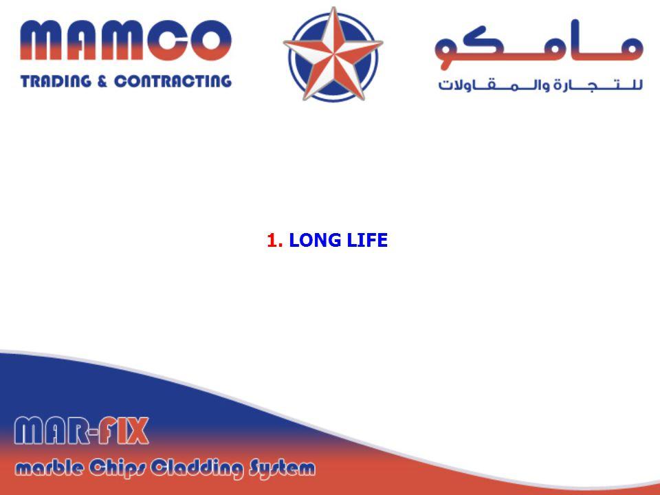 1. LONG LIFE