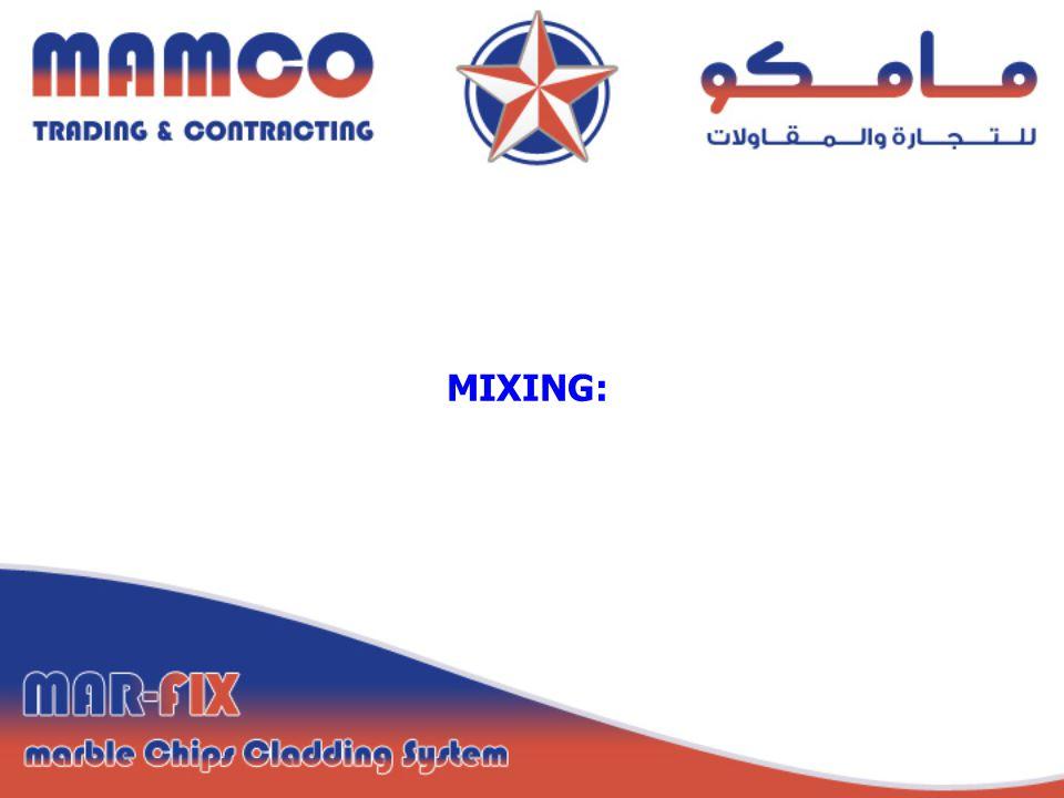 MIXING: