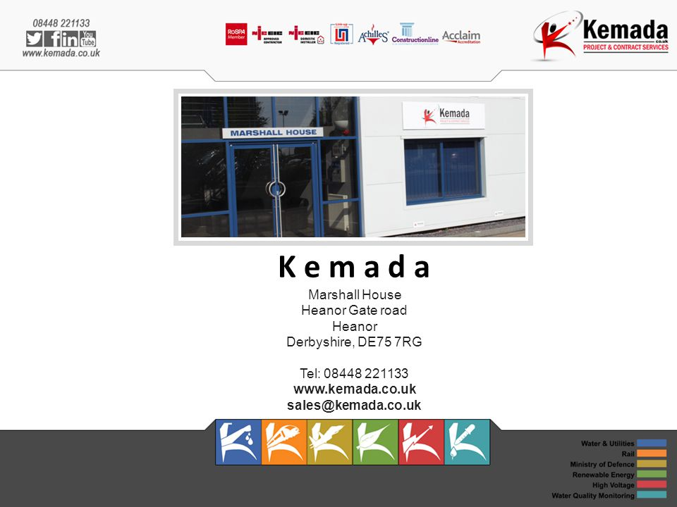 K e m a d a Marshall House Heanor Gate road Heanor