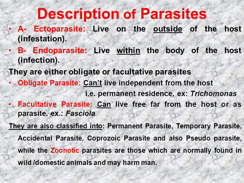 Description of Parasites