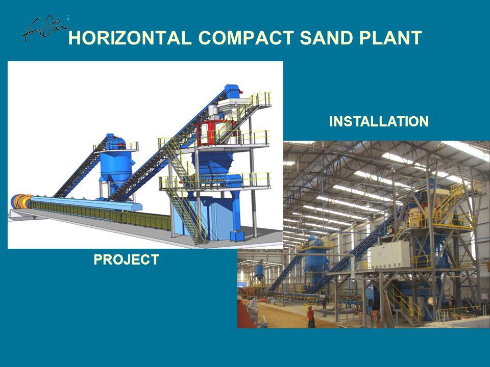 HORIZONTAL COMPACT SAND PLANT