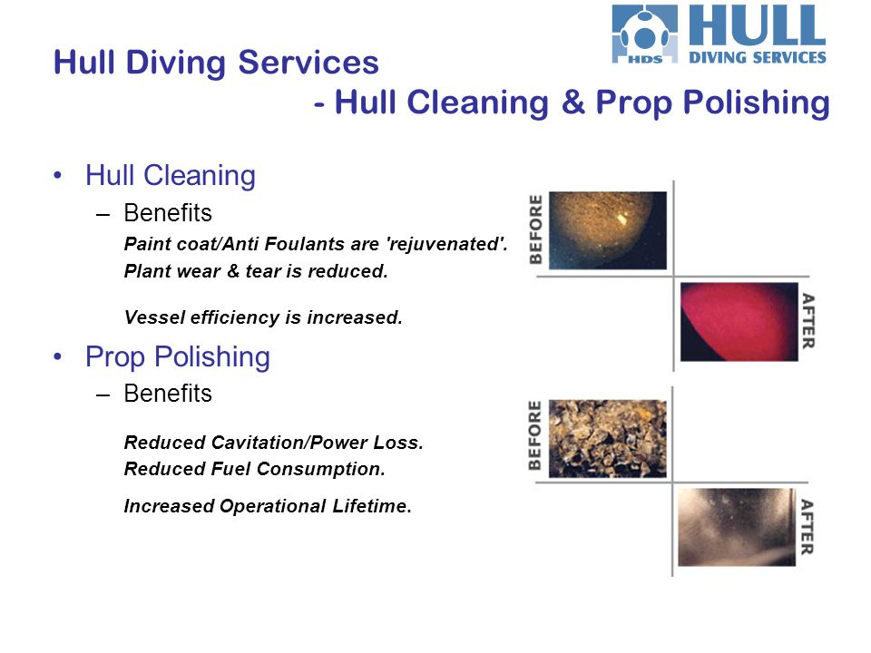 Hull Diving Services - Hull Cleaning & Prop Polishing