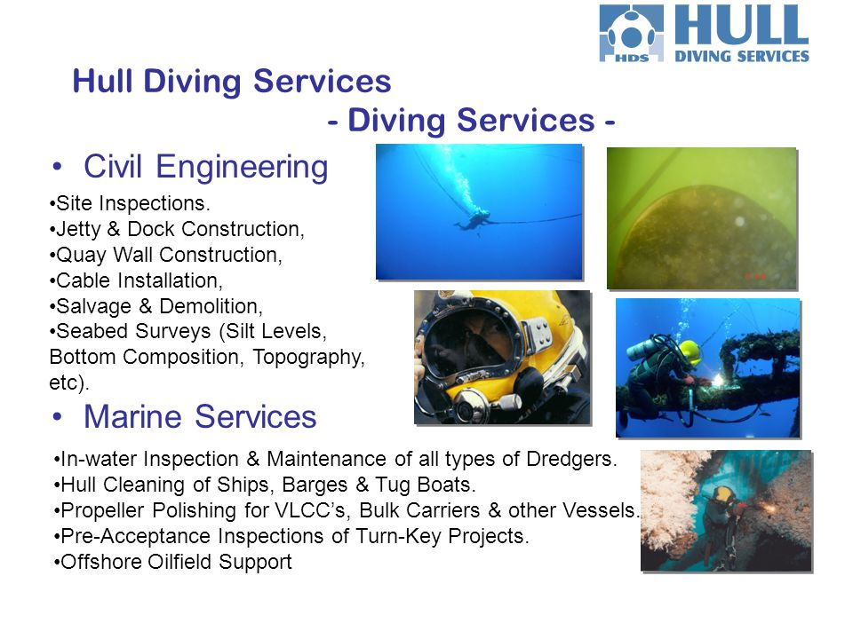 Hull Diving Services - Diving Services -
