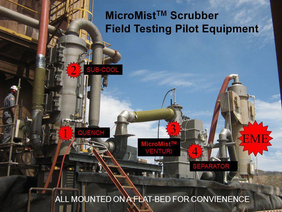 2 3 1 EME 4 MicroMistTM Scrubber Field Testing Pilot Equipment