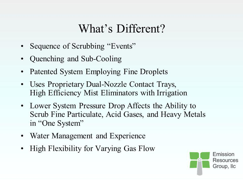 What's Different Sequence of Scrubbing Events