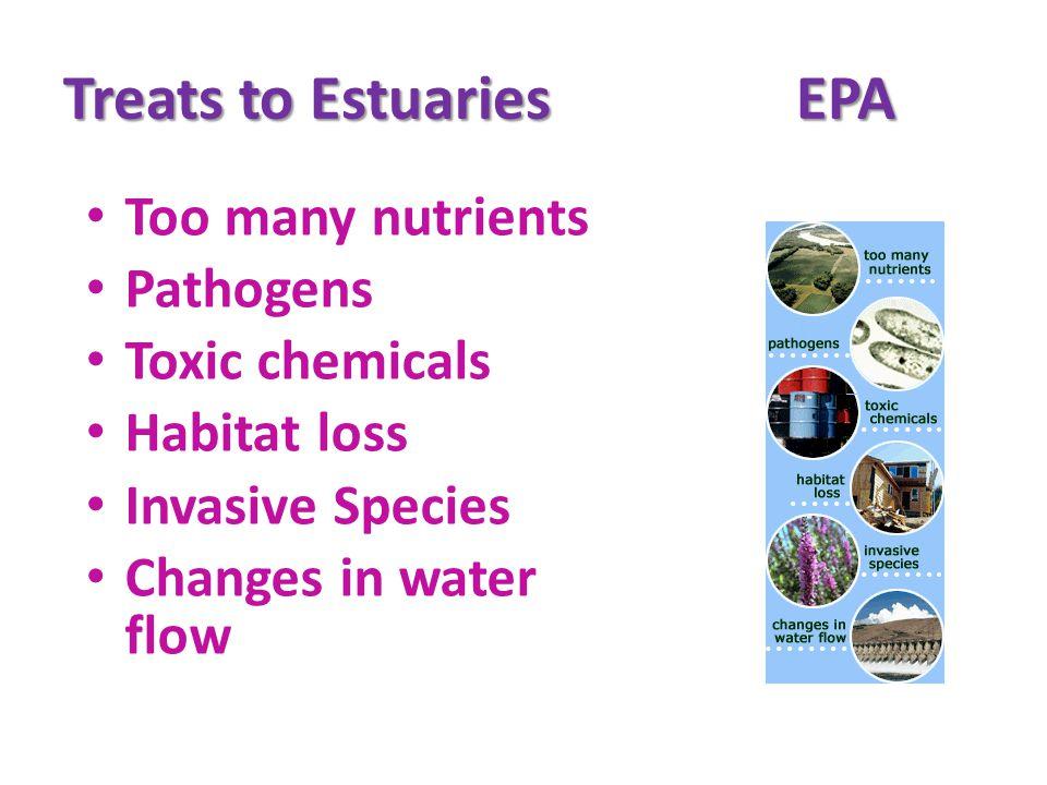 Treats to Estuaries EPA