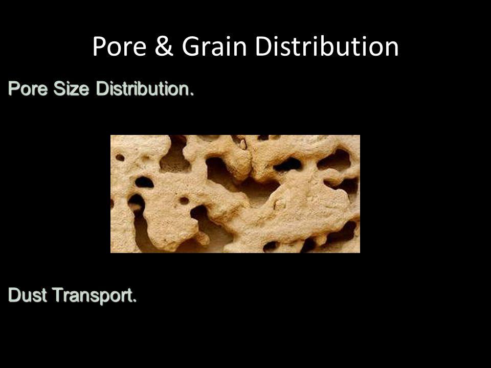 Pore & Grain Distribution