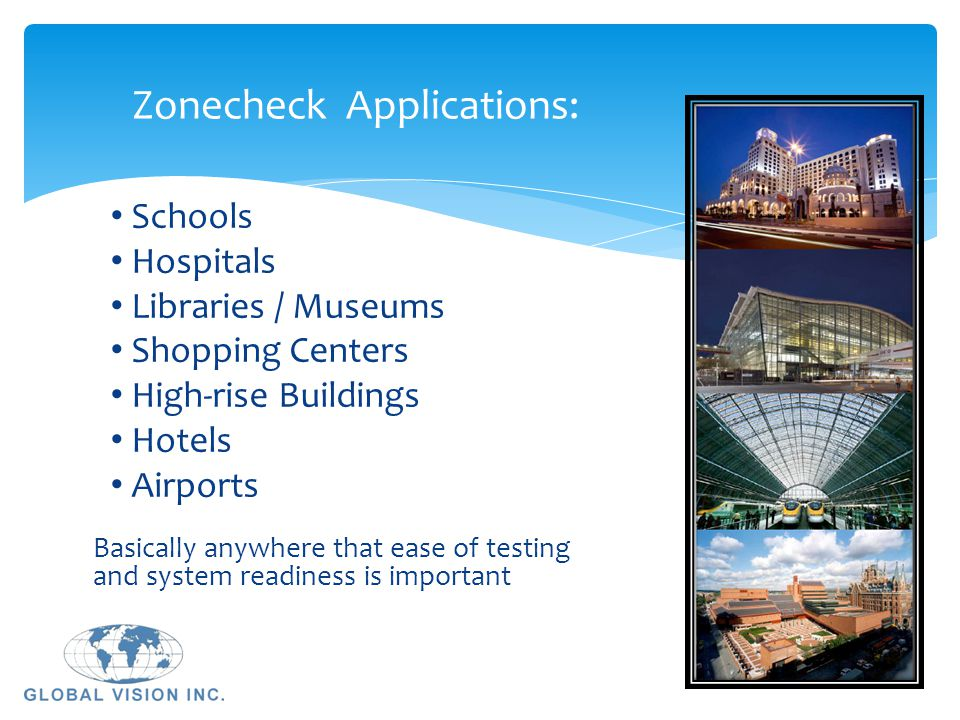 Zonecheck Applications: