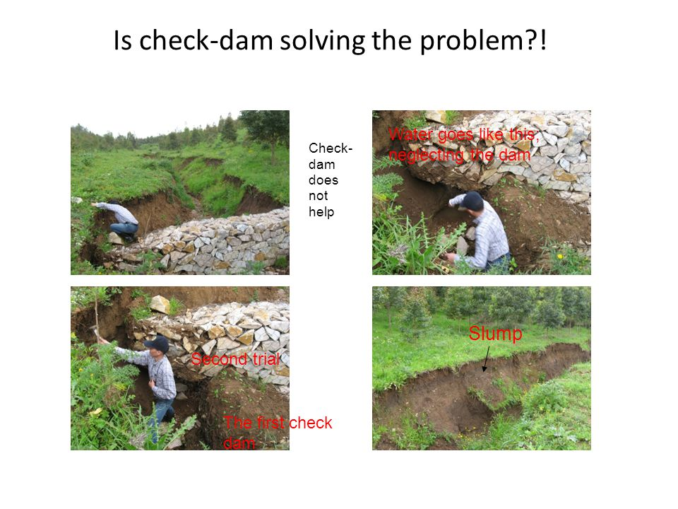 Is check-dam solving the problem !