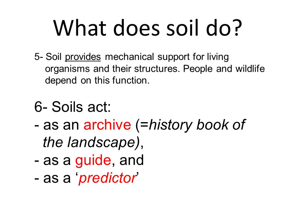 Soils soilscape geopedological setting ppt download for Soil conservation act
