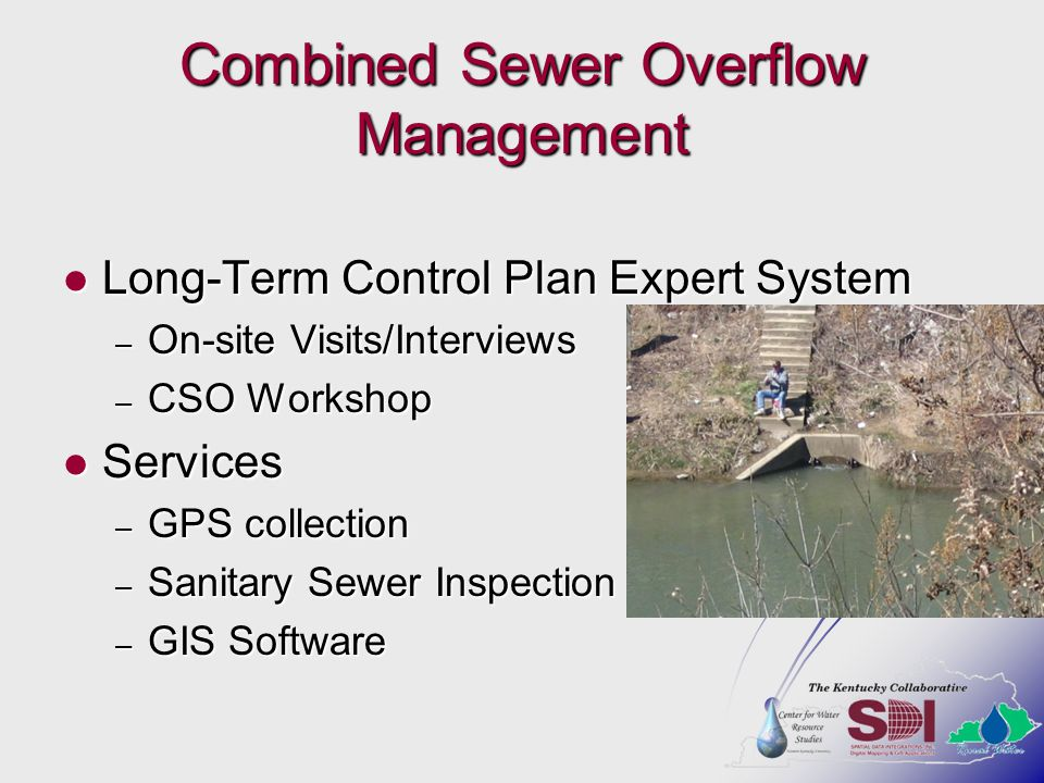 Combined Sewer Overflow Management