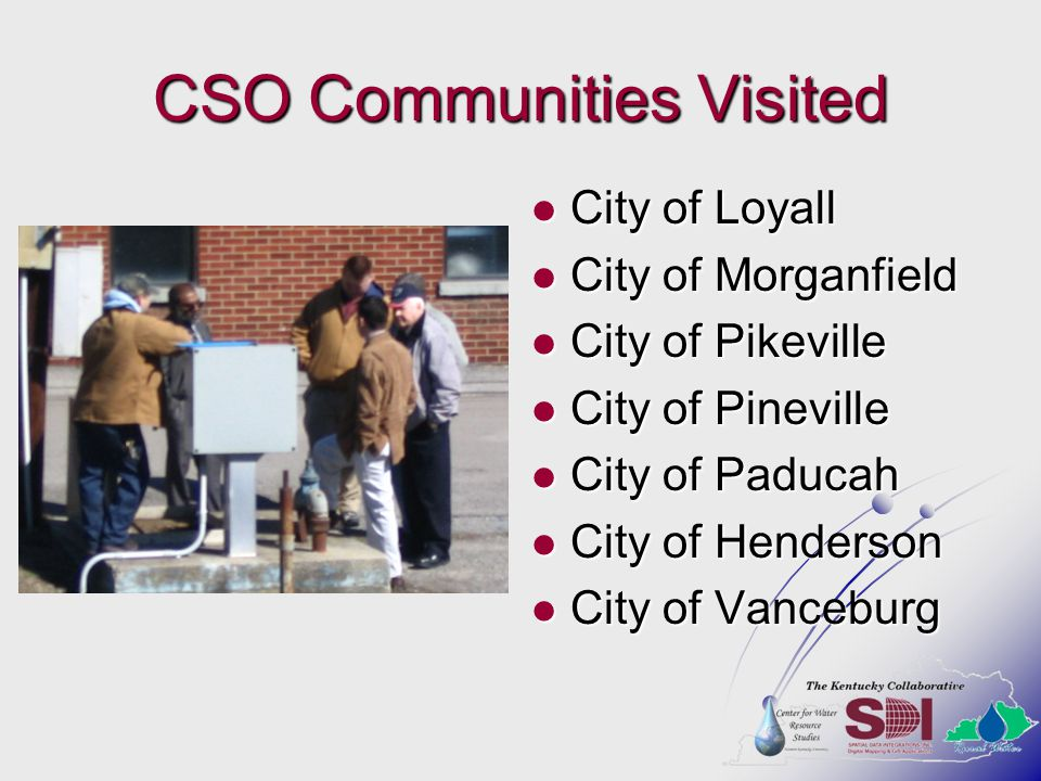 CSO Communities Visited
