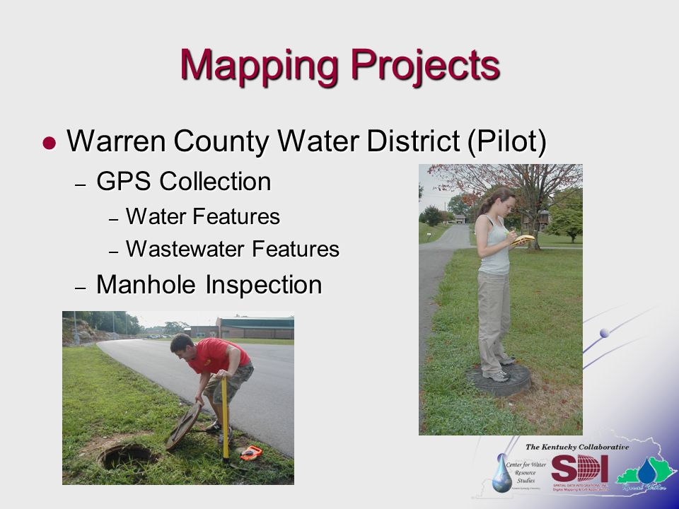 Mapping Projects Warren County Water District (Pilot) GPS Collection