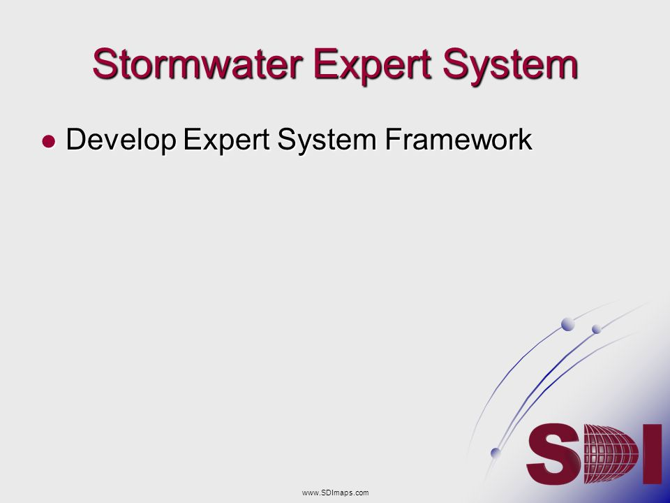 Stormwater Expert System