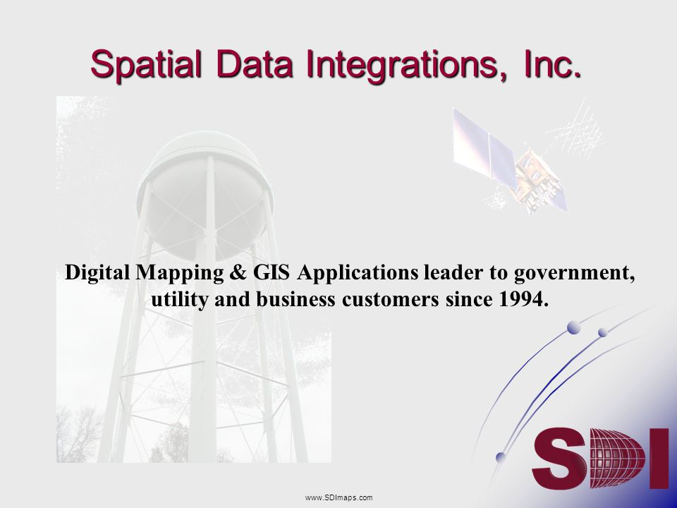 Spatial Data Integrations, Inc.