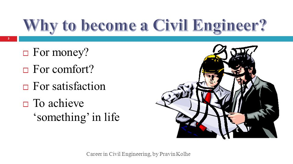 Why to become a Civil Engineer