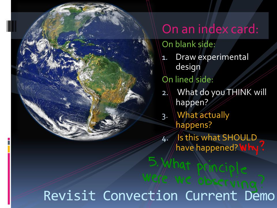 Revisit Convection Current Demo