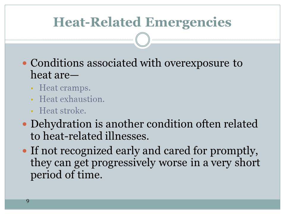 Heat-Related Emergencies