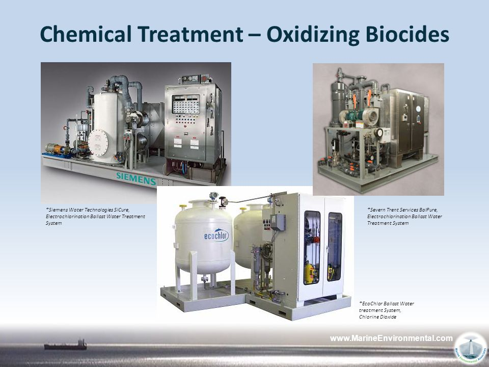 Chemical Treatment – Oxidizing Biocides