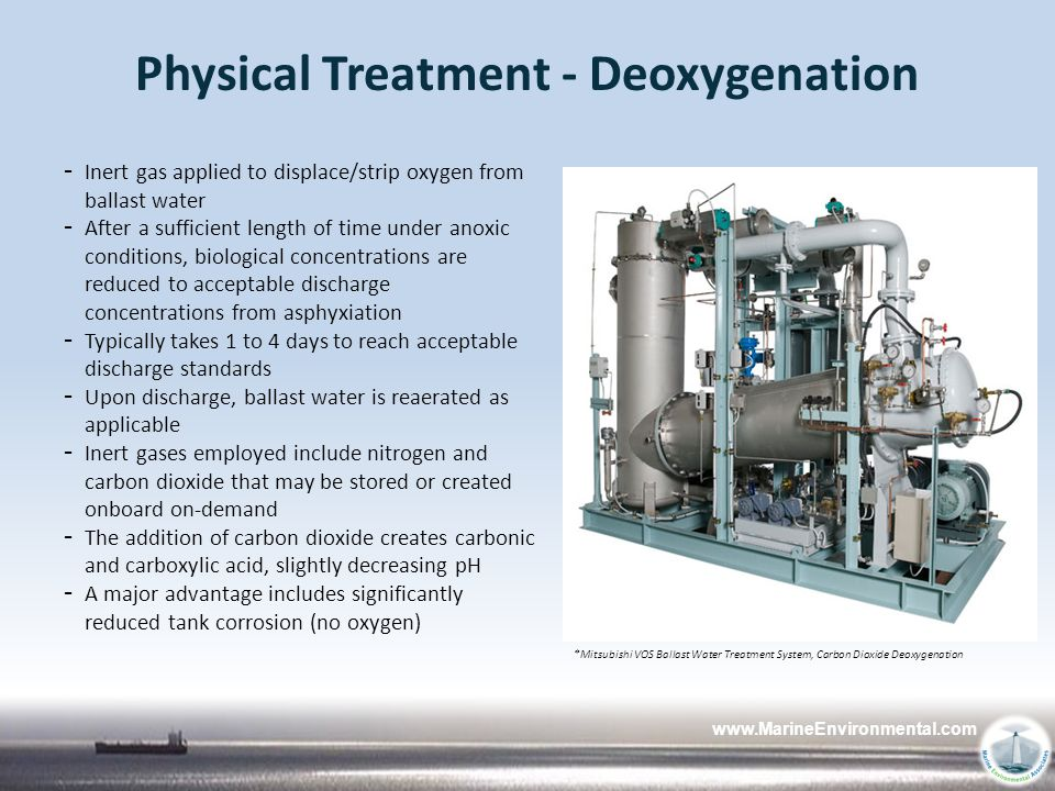 Physical Treatment - Deoxygenation