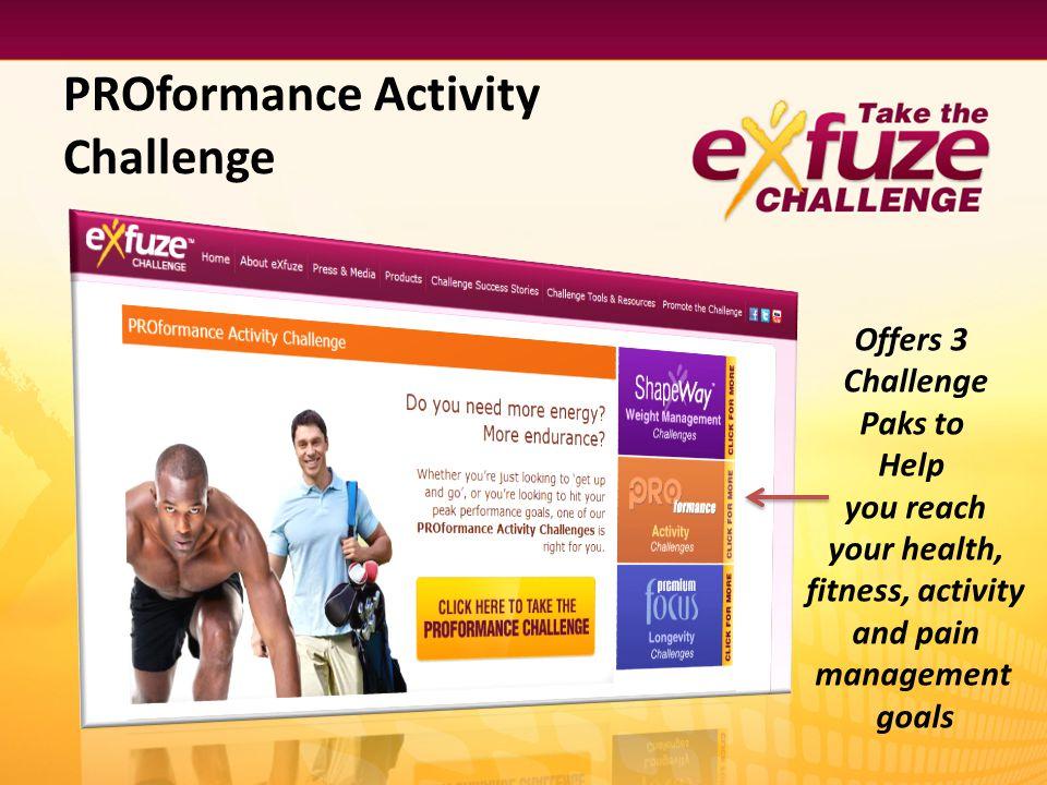 PROformance Activity Challenge