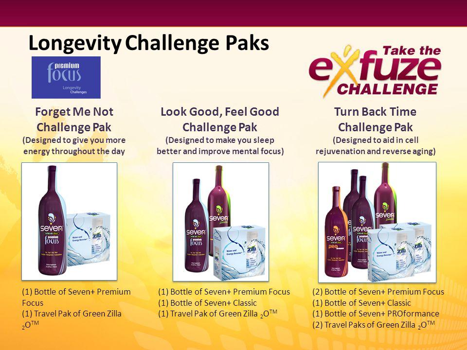 Longevity Challenge Paks