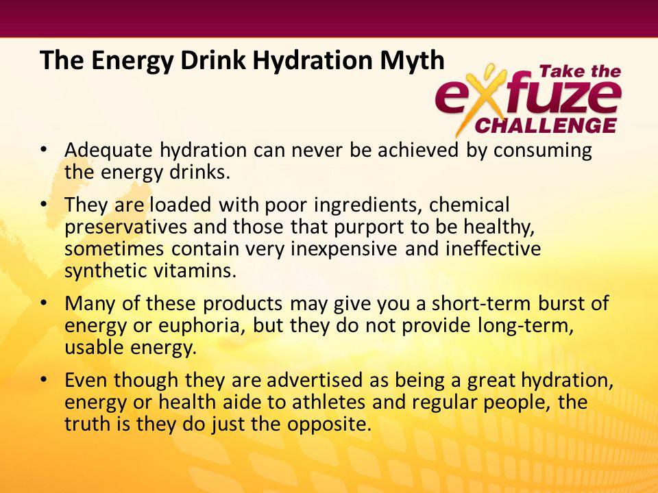 The Energy Drink Hydration Myth