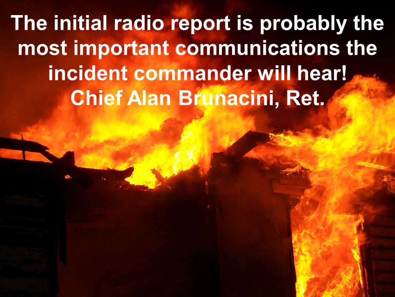 Chief Alan Brunacini, Ret.
