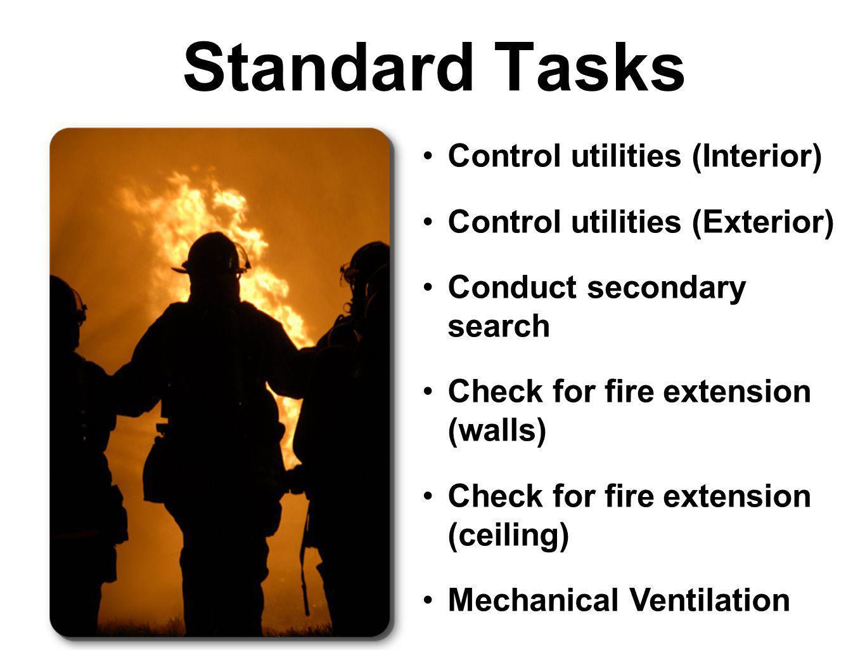Standard Tasks Control utilities (Interior)