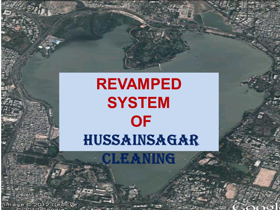 HUSSAINSAGAR CLEANING