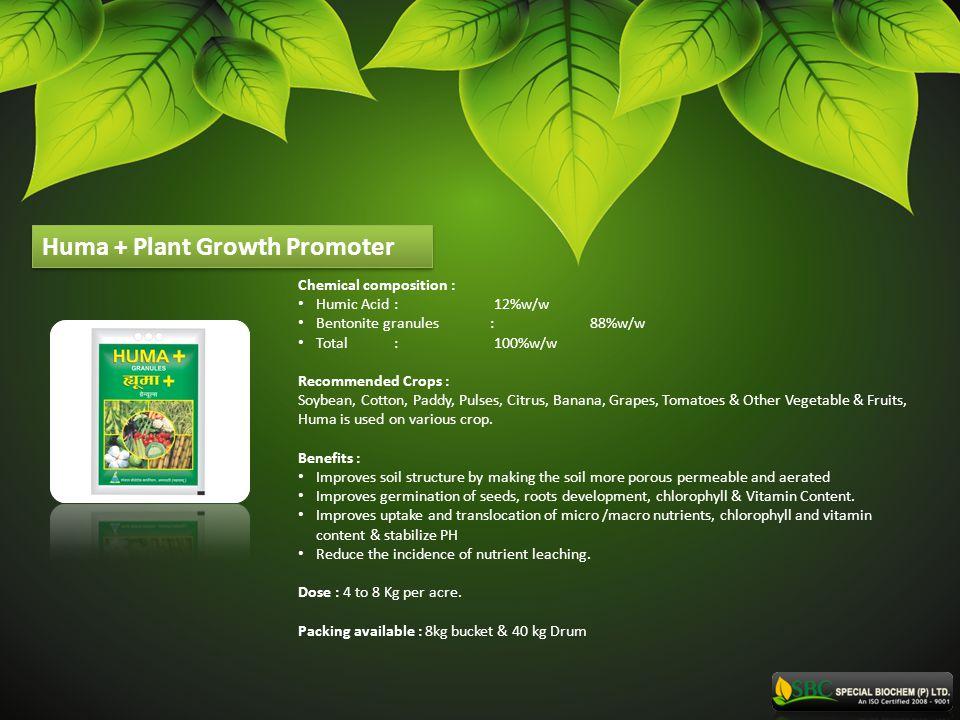 Huma + Plant Growth Promoter