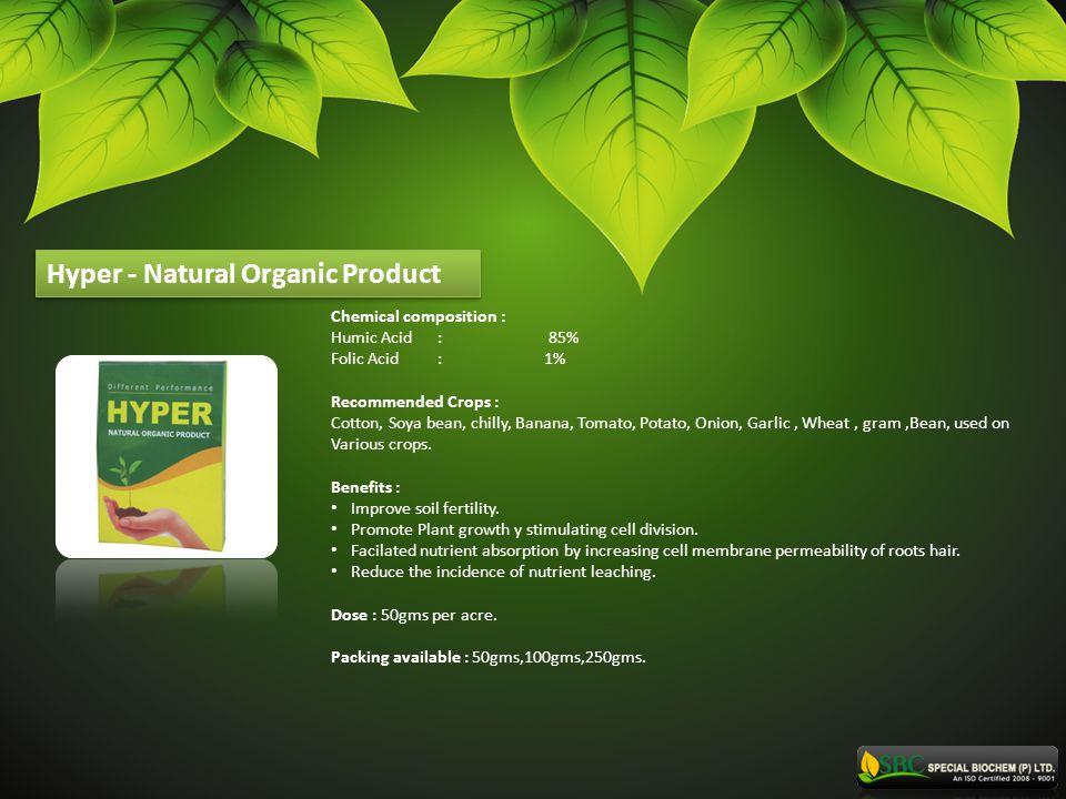 Hyper - Natural Organic Product